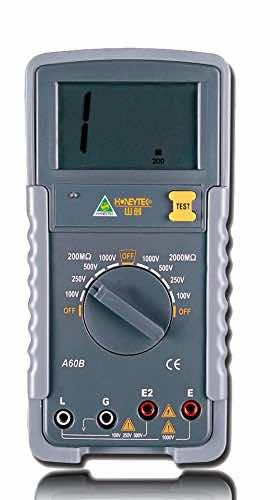 Honeytek A60B Insulation Tester