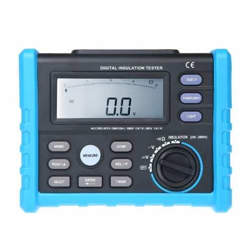 Docooler Digital Insulation Tester Meter