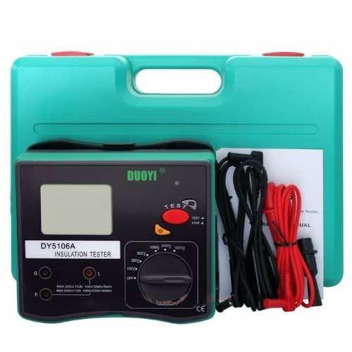 New DY5106A Digital Insulation Resistance Tester Meter Voltmeter Megohmmeter 5000V