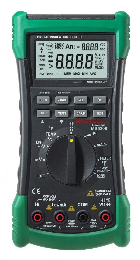 Mastech MS5208 6600