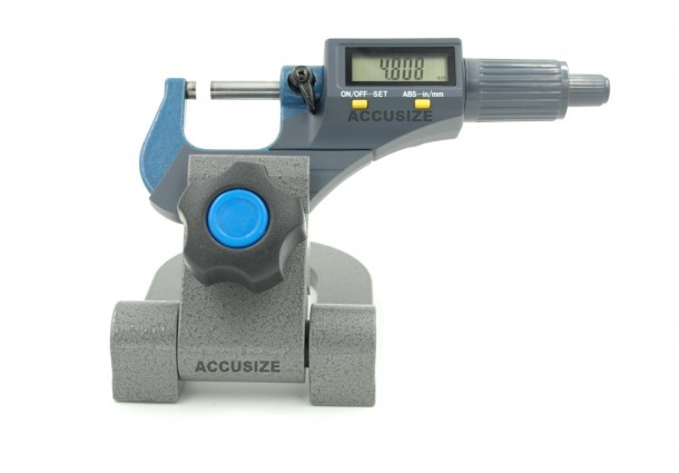 "AccusizeTools - Electronic Digital Outside Mic 0-1""/0-25mm"