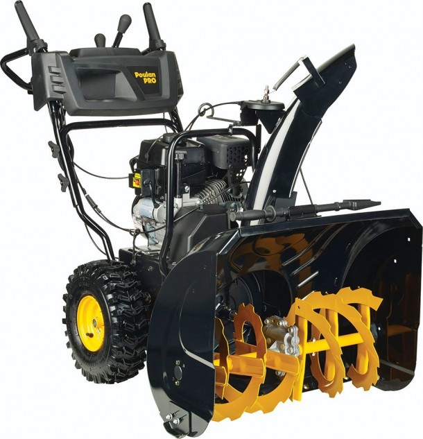 Poulan PRO PR270 961920090 Two-Stage Electric Start Snow Thrower