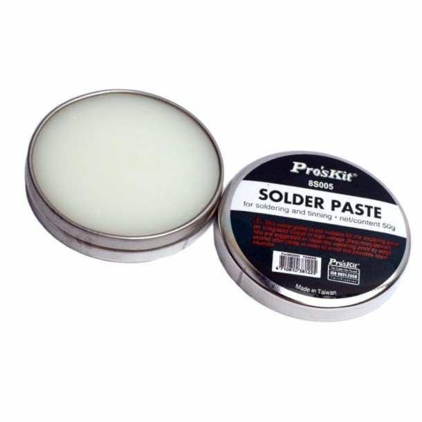 Pro'sKit 8S005 Lead-Free Acid Soldering Pastes 50g