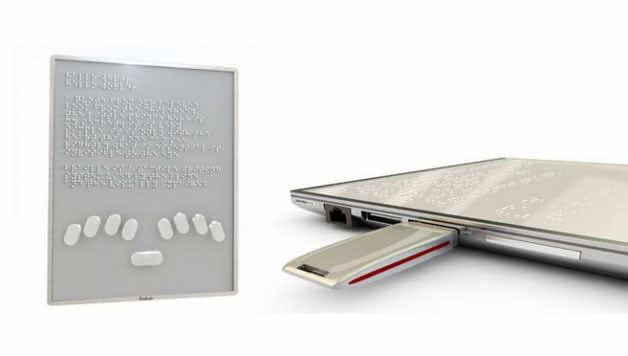 Blitab Braille System