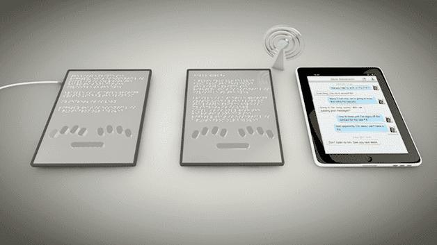 Blitab Braille System2