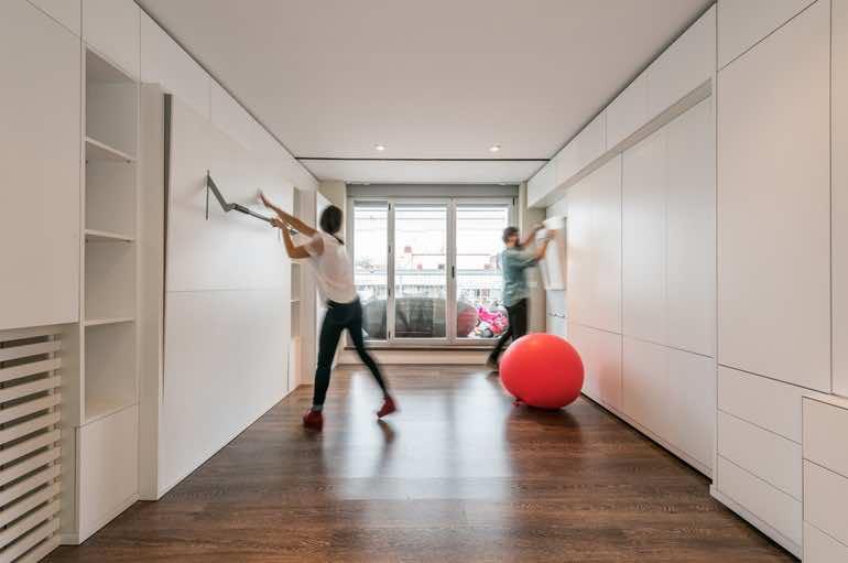 Casa Stella Can Gain A Guest Room Via Pushing A Button 10