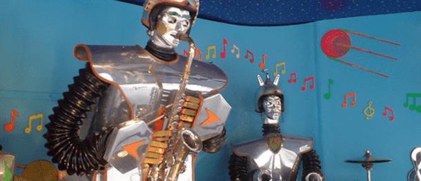 DARPA Jazz Robots