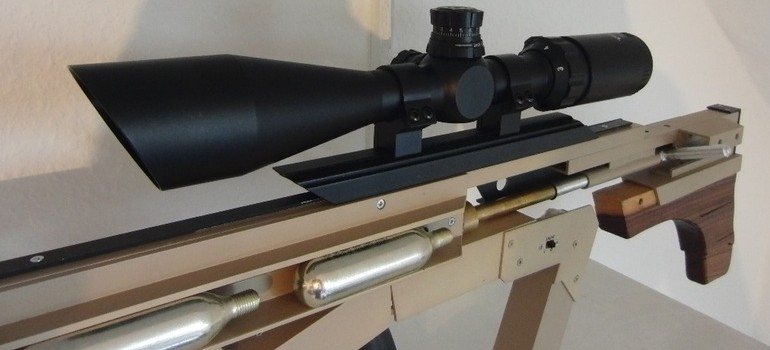 DIY sniper rifle firing push pins4