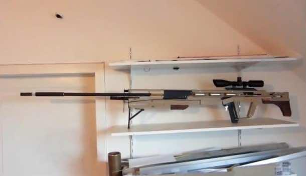 DIY sniper rifle firing push pins5