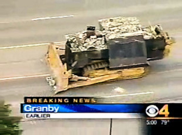 Eleven Years Ago, A Man Built A Self-Modified Killer Dozer and Unleashed Hell