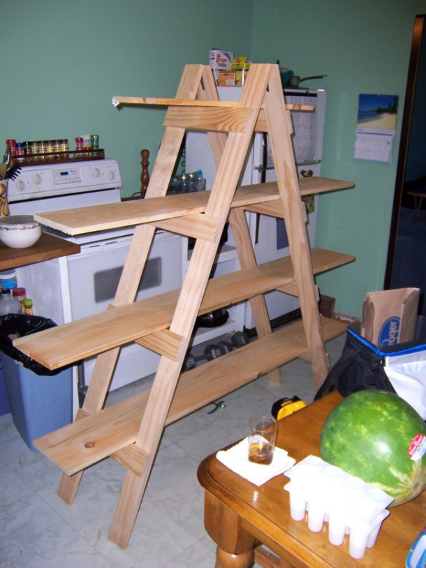 Here Are 21 Ways You Can Use That Old Ladder Of Yours 5