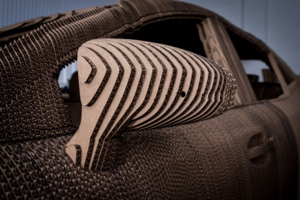 Lexus Manufactured A Driveable Cardboard IS Saloon 6