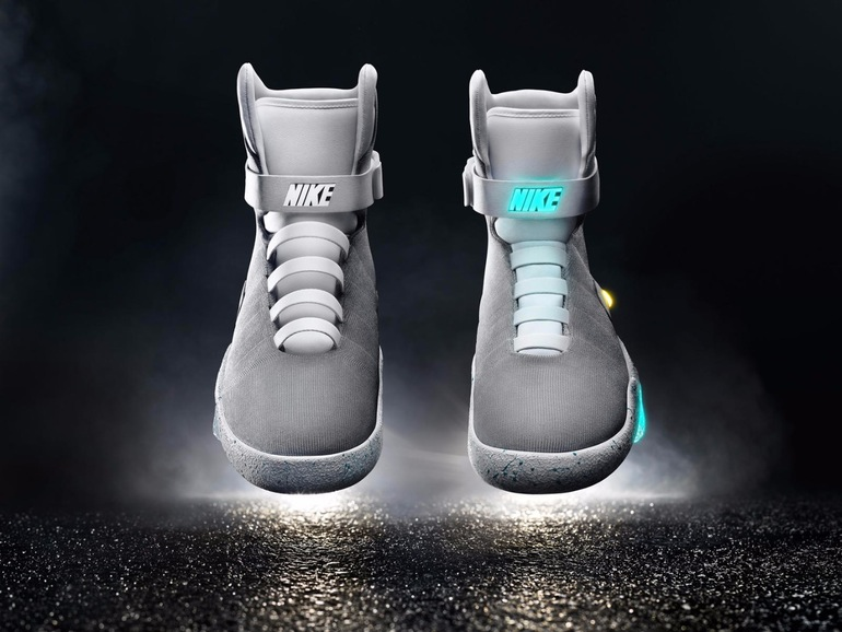 Nike Self-Lacing Sneakers From Back To The Future Are A Reality Now