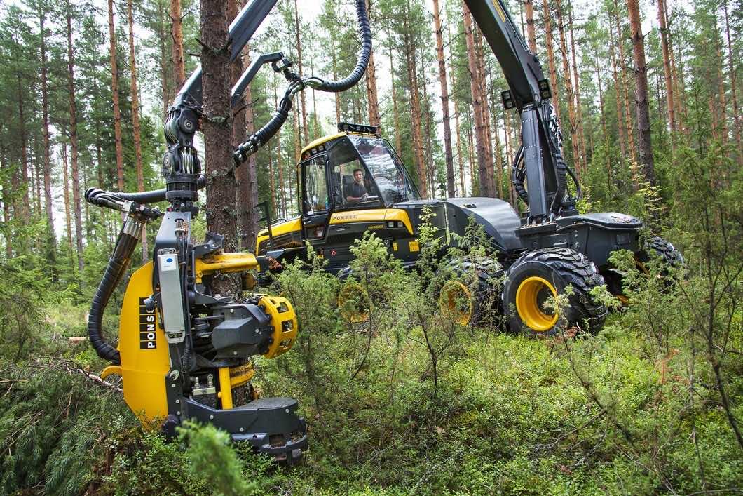 Ponsse timber lumberjack3
