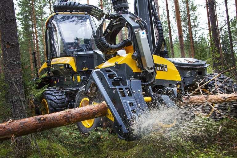 Ponsse timber lumberjack5