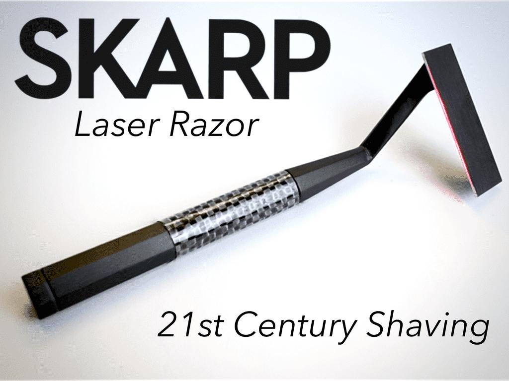 Skarp Razor Uses Laser For Shaving 2
