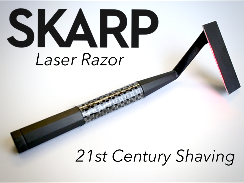 This New Razor Uses A Laser To Shave Your Hair