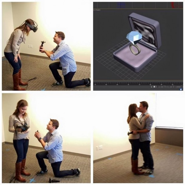 Using VR To Propose Your GF Is Possible Now