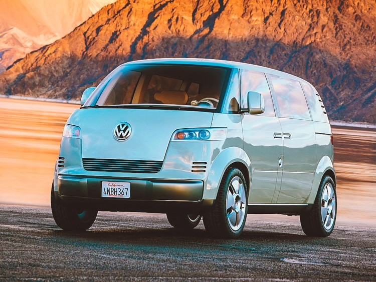 Volkswagen releasing hippie van as EV