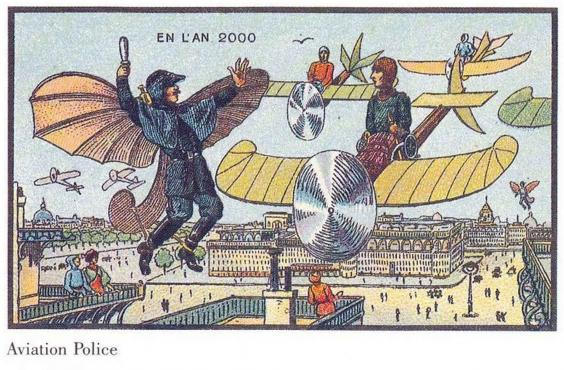 Year 1900 predictions about 2000-10