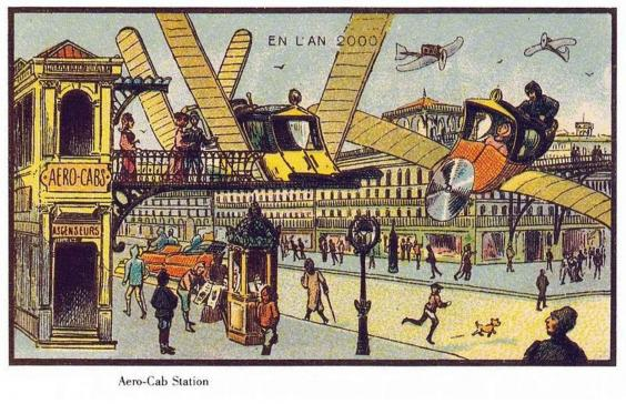 Year 1900 predictions about 2000-12