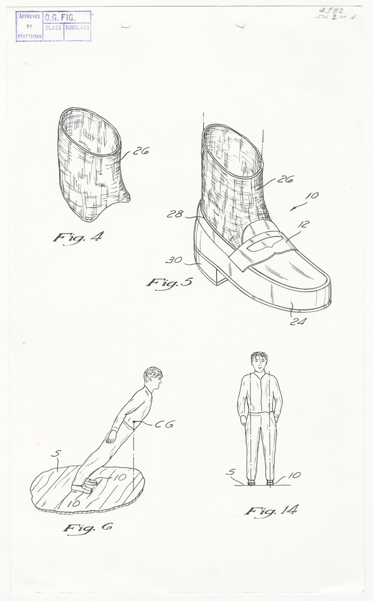 Patent Number 5,255,452 Michael Jackson's Anti-Gravity Illusion Shoes Selected Patent Case Files Record Group 241 Records of the Trademark and Patent Office HMS Container ID: HC1-90359313 HMS Item ID: HD1-90980612