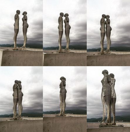 moving statues georgia