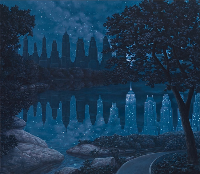 rob gonsalves insane paintings