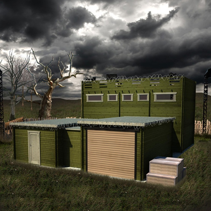 tiger sheds zombie cabin