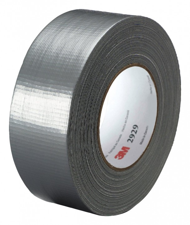 3M Utility Duct Tape 2929 Silver