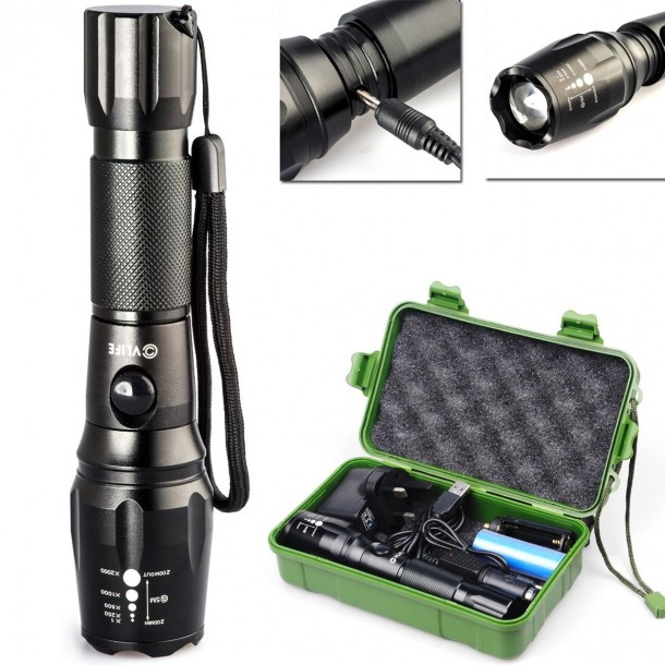 10 Best Rechargeable Flashlights (10)