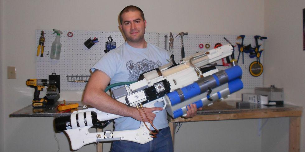 3 D printed railgun