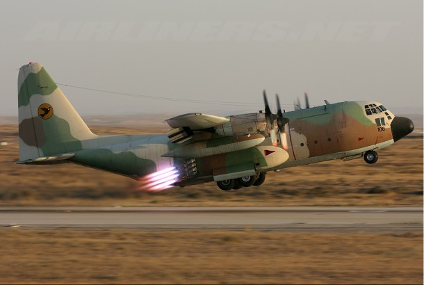 C-130 rocket for Iranian hostage crisis