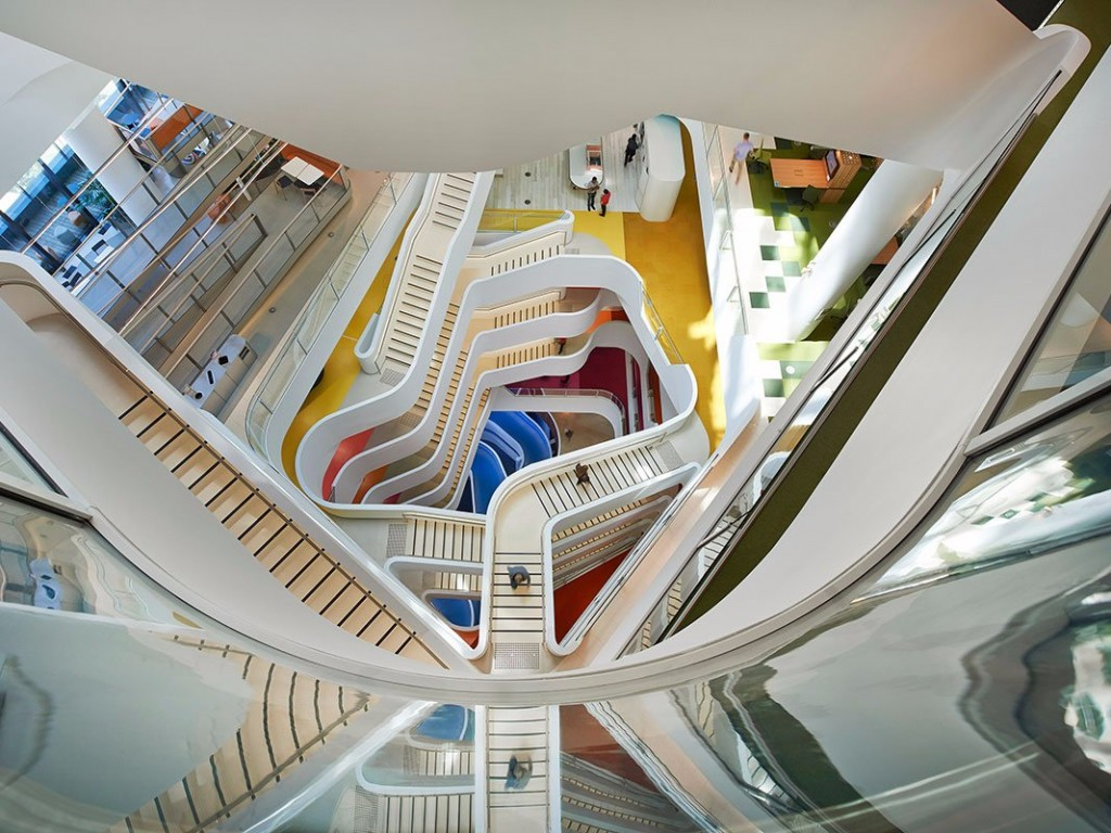 Check Out The Healthiest Workplace In The World