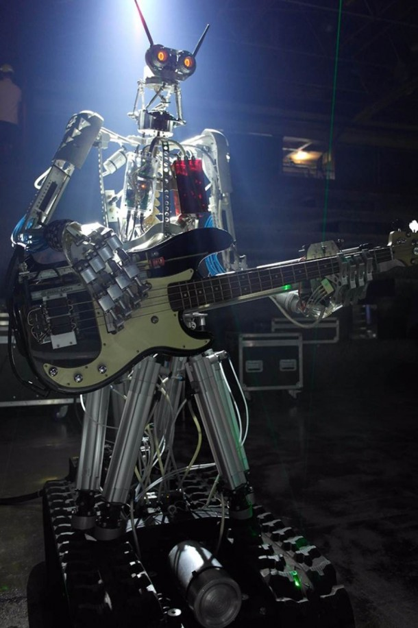 Compressorhead Is Looking For A Robotic Vocalist 3