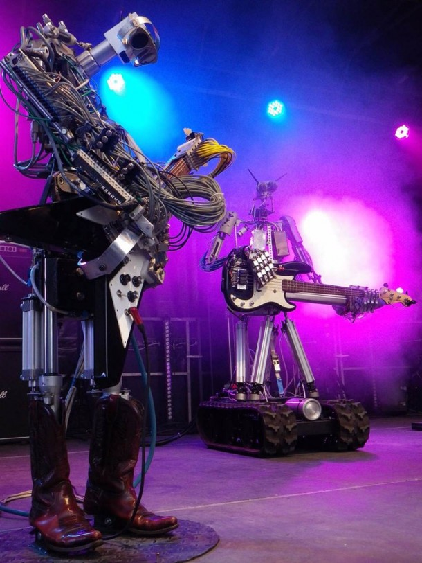 Compressorhead Is Looking For A Robotic Vocalist