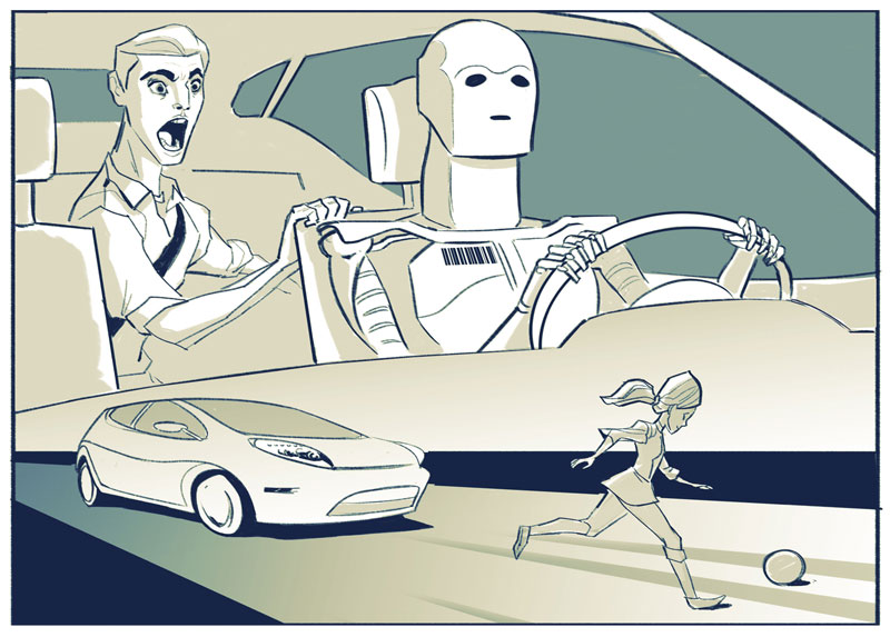 Ethical dilemmas in driverless cars3
