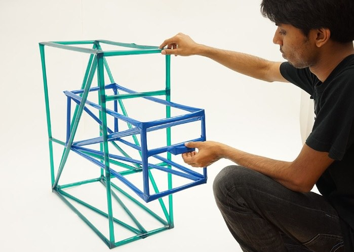 Photopiper wireframe model