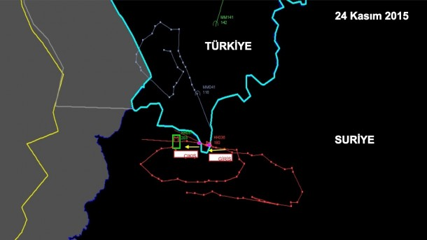 Russian plane downed by Turkey in ight of Sience