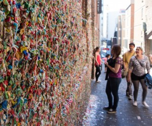Seattle's Gum Wall Dies Tomorrow 5