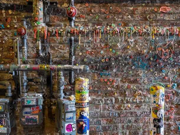 Seattle's Gum Wall Dies Tomorrow 7