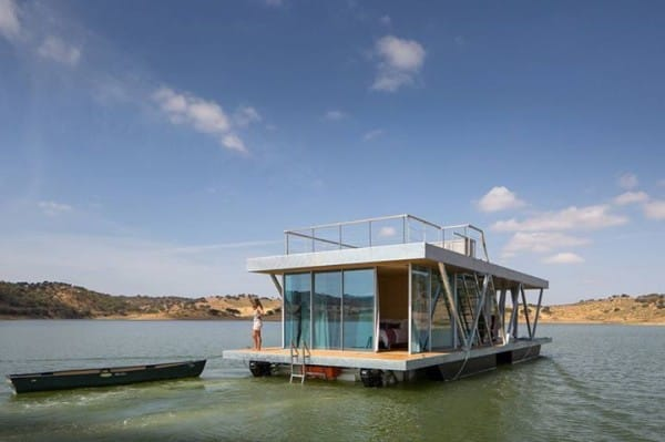 The Amazing Floating House Is Customizable And Self-Sufficient