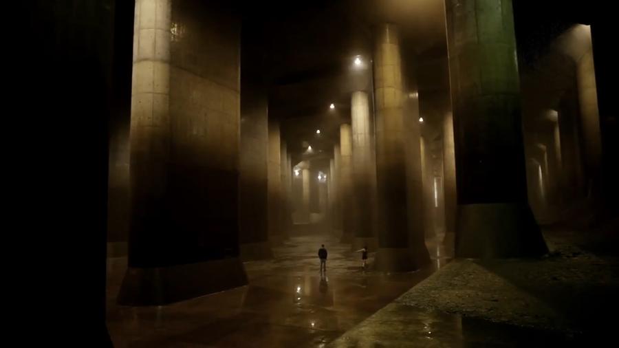 Tokyo pantheon water tank
