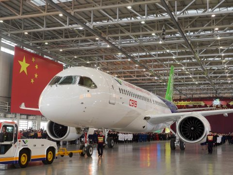 china commercial ailiner c9192