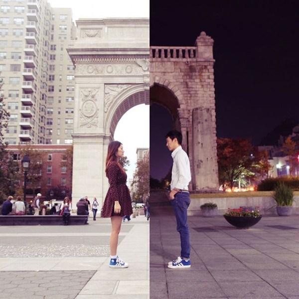 collage photos Korean couple6