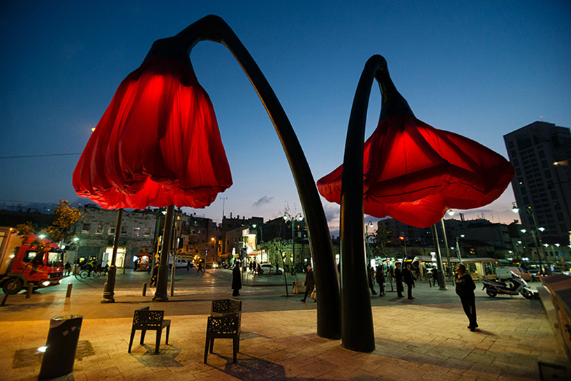 These Innovative Streetlights Blossom Into Flowers When You Walk Past Them