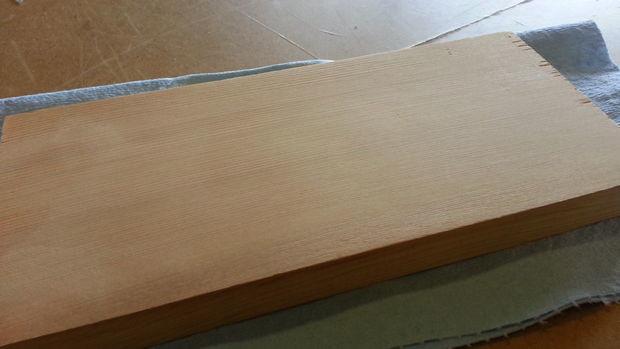 wood furniture dent removal DIY