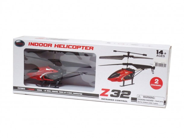 Z32 By P.D Toys as one of the Best Indoor RC Helicopters