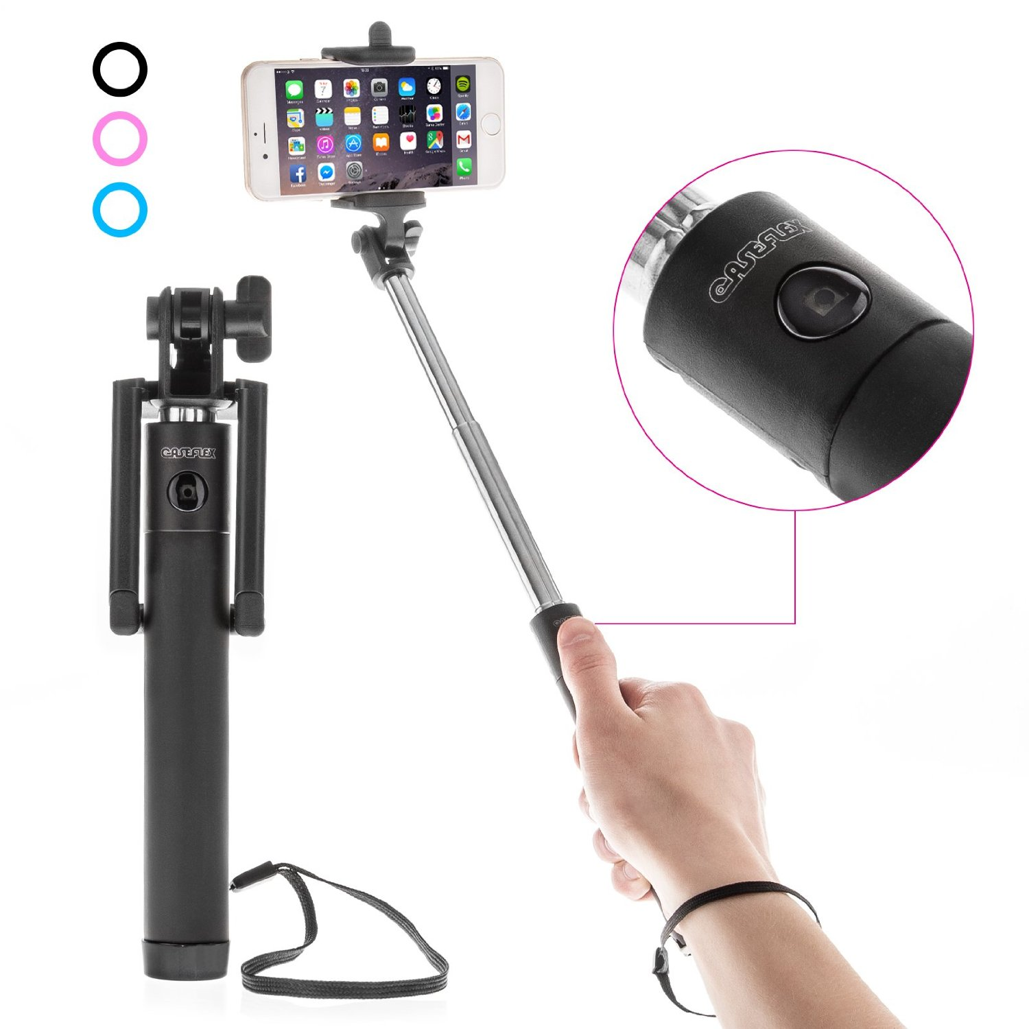 10 best selfie sticks which you can use with any smart phone. Black Bedroom Furniture Sets. Home Design Ideas