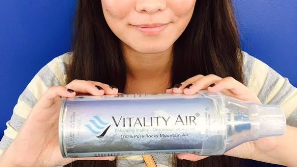 A Canadian Company is Selling Bottled Fresh Air 4